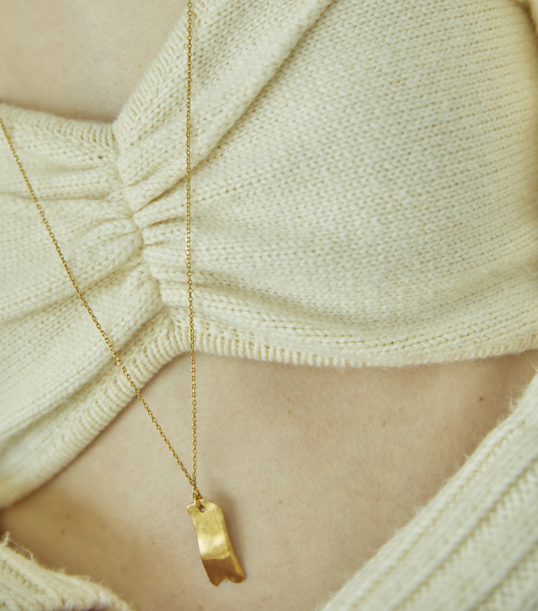 LUMP NECKLACE_GOLD