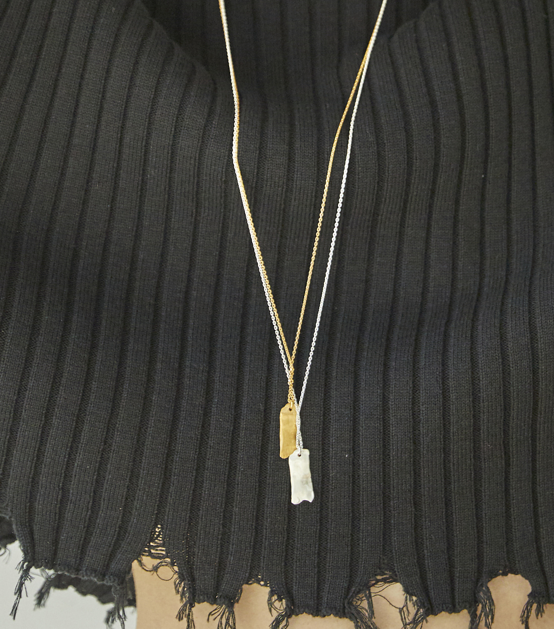 LUMP NECKLACE_SILVER