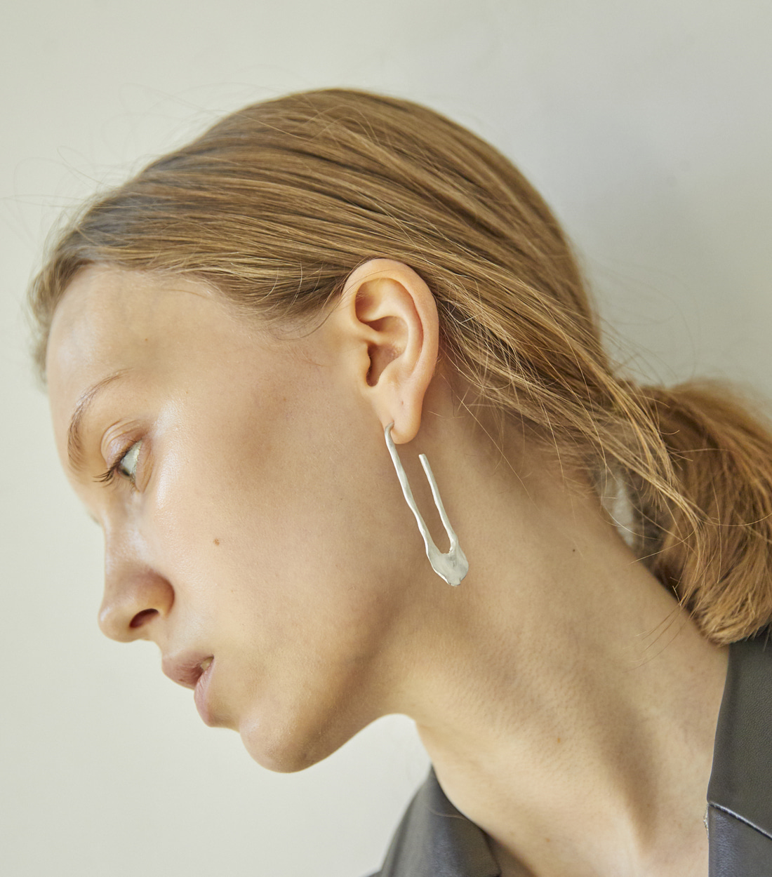 BUSH EARRING_SILVER